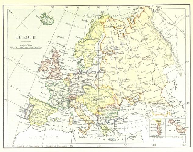 Paesi multilingue: Europa